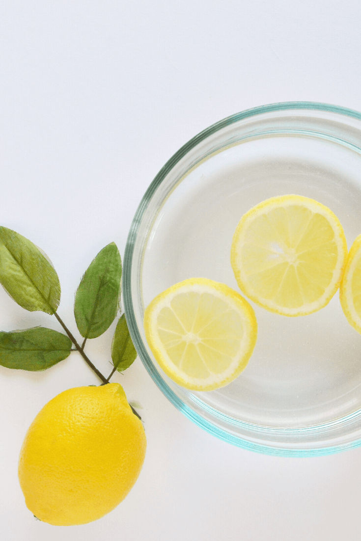 Lemon water has many health benefits as well as having a great taste. It is very refreshing and starting the day with a glass of lemon water ensures that you're starting the day with a step to improving your health.