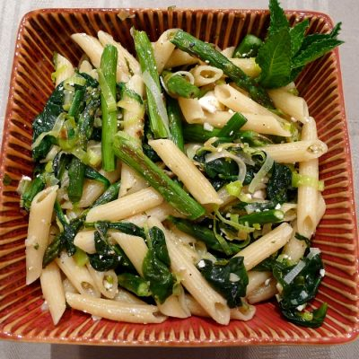 Pasta Verde {Green Pasta} Is A Delicious Welcome to Spring