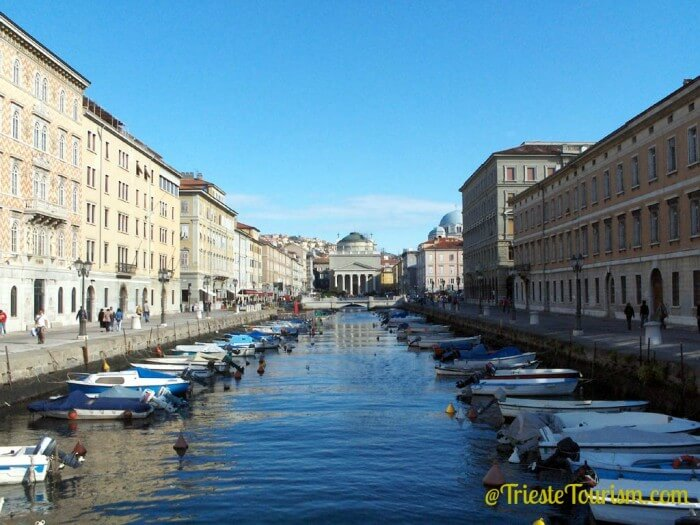 Trieste, Italy, boats
