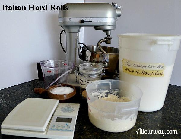 hard, rolls, Italian, starter
