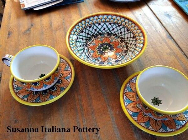 Bowls, Custom, Maiolica, Pottery