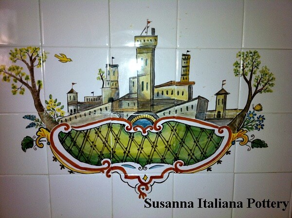 Maiolica Tile backsplash