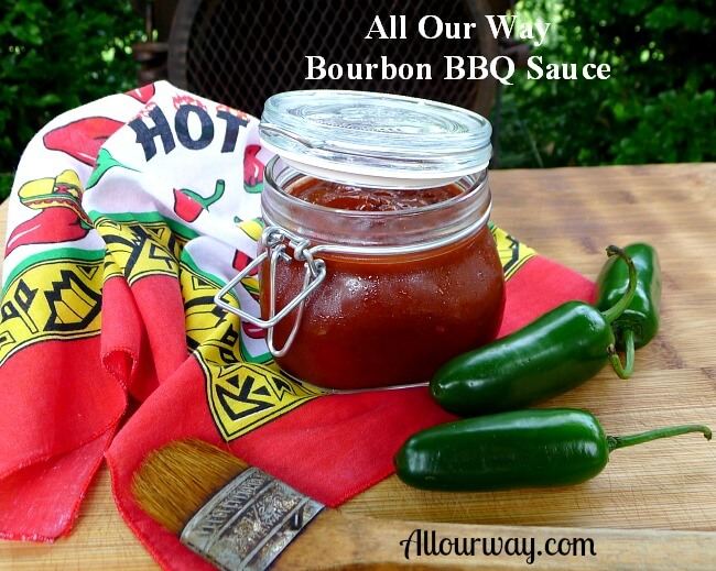 Spicy Bourbon Barbecue Sauce that is finger licking good from ...
