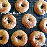 bagels, cooling, rack