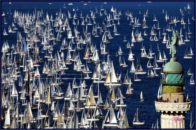 Barcolana in Trieste, Italy, annual sailboat race at allourway.com