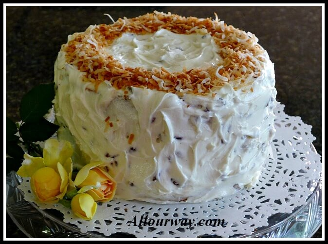 Italian Cream Cake Torta Italiana Di Crema All Our Way