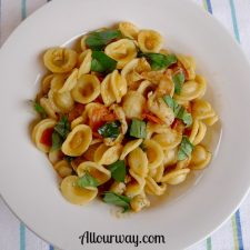 Orecchiette with Spicy Shrimp recipe at allourway.com