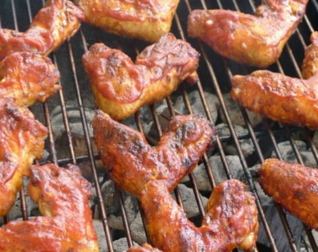 Spicy Barbecued Chicken Wings | A Step by Step Recipe Tutorial