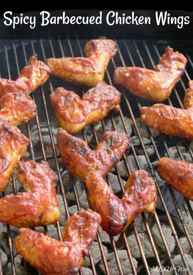 Spicy Barbecued Chicken Wings All Our Way