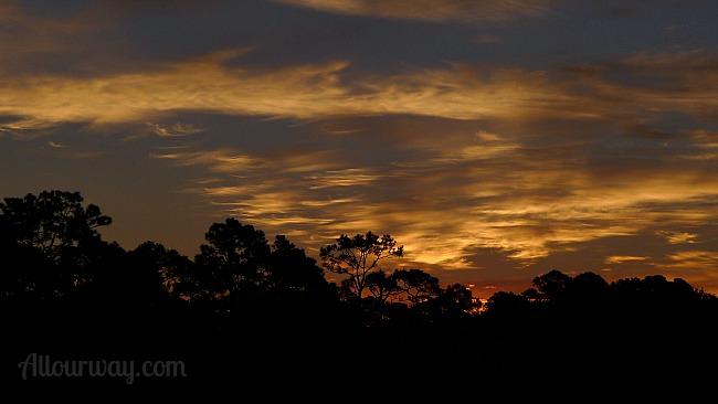 Sunrise on Jekyll Island at Allourway.com