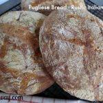 Pugliese bread is a rustic Italian bread similar to ciabatta @allourway.com
