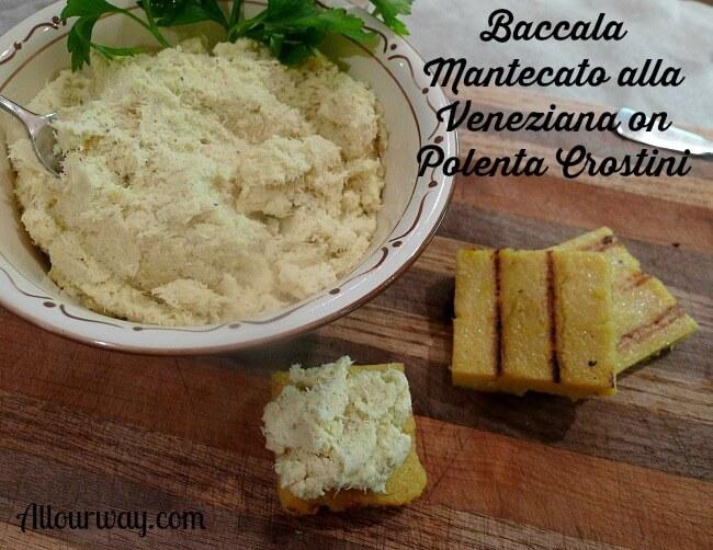 Baccala Mantecato Alla Veneziana {Creamed Baccala}