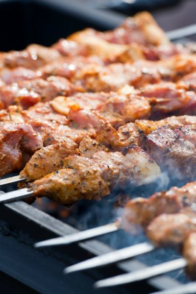 Grilled Pork Kebabs – Spiedini di Maiale – All Our Way
