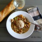 Louisiana Shrimp Gumbo with Brown Rice @allourway.com
