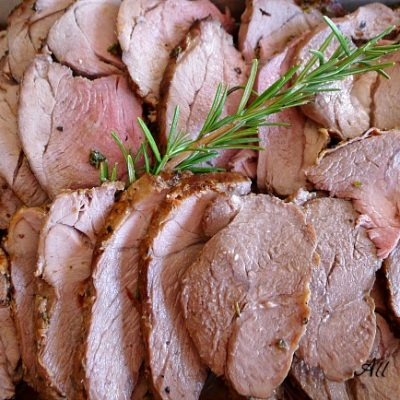 Roasted Herbed Leg of Lamb – Arrosto di Agnello con Erbe
