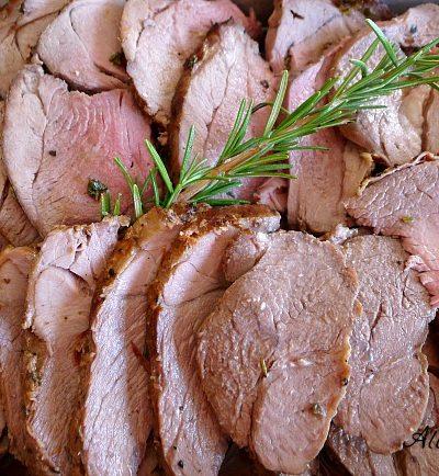 Roasted Herbed Leg of Lamb – Arrosto di Agnello con Erbe