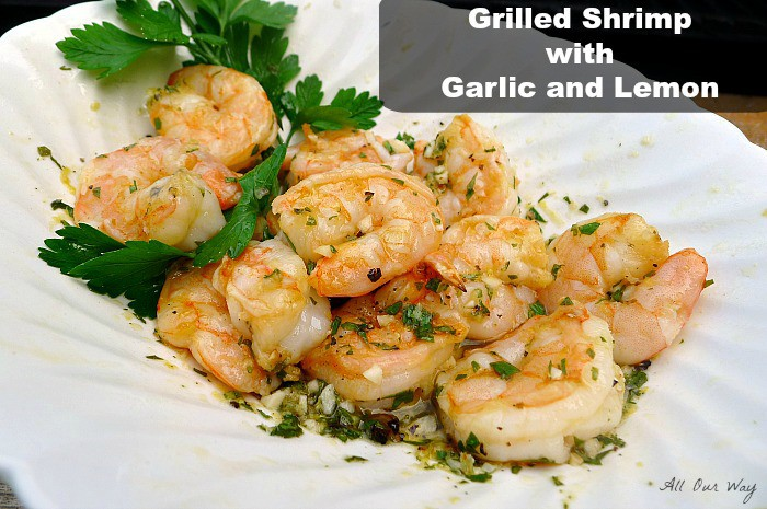 ... Shrimp with Garlic and Lemon would be plump , tender and perfectly