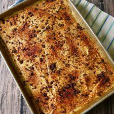 Tiramisu Cake Soaked with Espresso and Topped with Zabaglione Cream @allourway.com