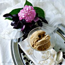 Cappuccino Gelato is no churn and favored with espresso and a caffè liqueur @allourway.com