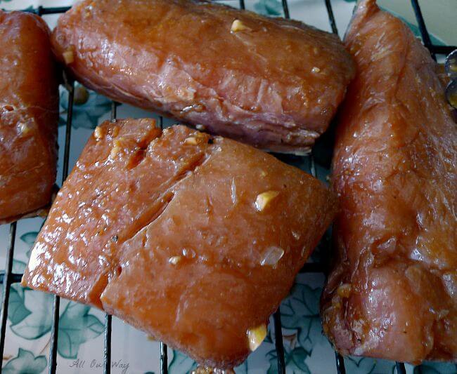 Mahi Mahi Marinated In Lime Marinade makes seafood juicy and flavorful @allourway.com