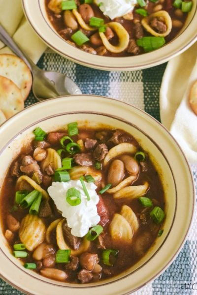 Chili Con Carne: Five Star Spicy Recipe With Beans And Pasta
