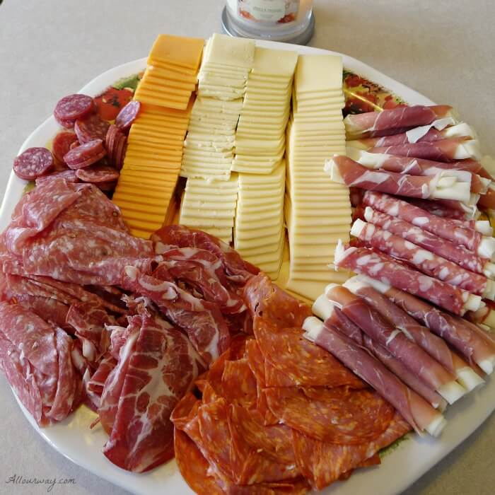 An Exceptional Thanksgiving Menu with an Italian Antipasto is our appetizer @ allourway.com