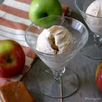 Caramel Apple Pie No-Churn Ice Cream is Fast and Easy with Apple Pie Filling @allourway.com