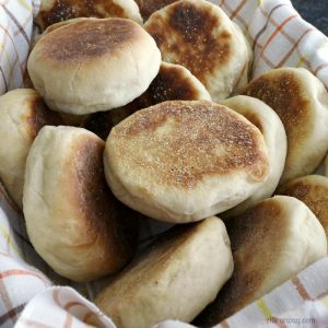 English Muffins Recipe Start to Finish a Delicious Versatile Bread@allourway.com