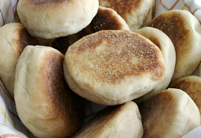 English Muffins From Start to Finish