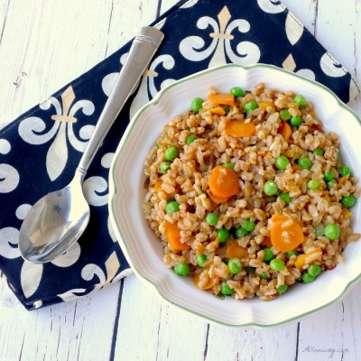 Farro and Peas {Risi e Bisi}