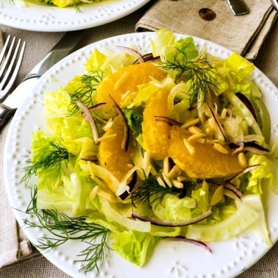 Fennel Orange Salad {Insalata di  Fenochio e Arancia}