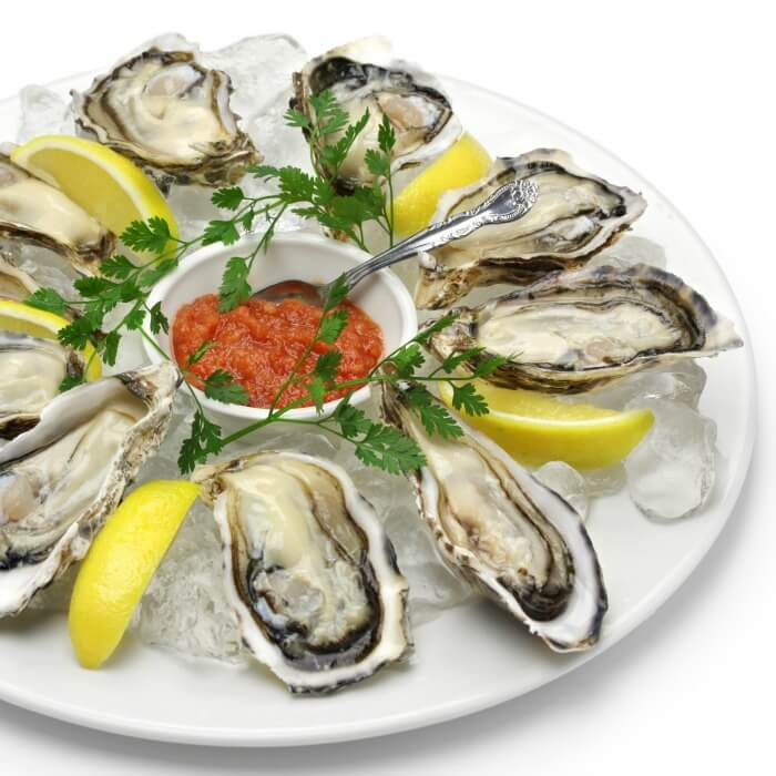 Oysters on the Half instead of Crunchy Deep Fried Oysters @allourway.com