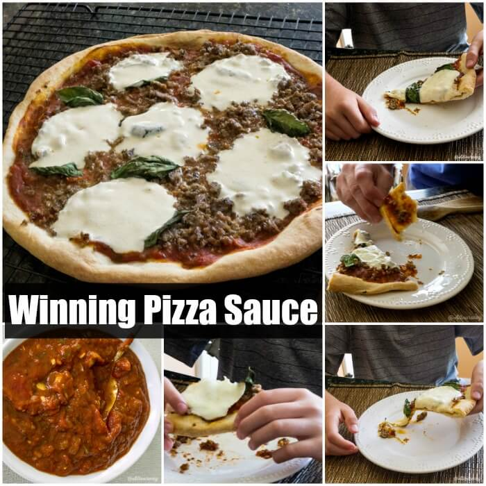 Winning Pizza Sauce is easy, healthy and tasty @allourway.com