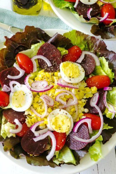 Unbeatable Beet Salad With Hickory Bacon Vinaigrette
