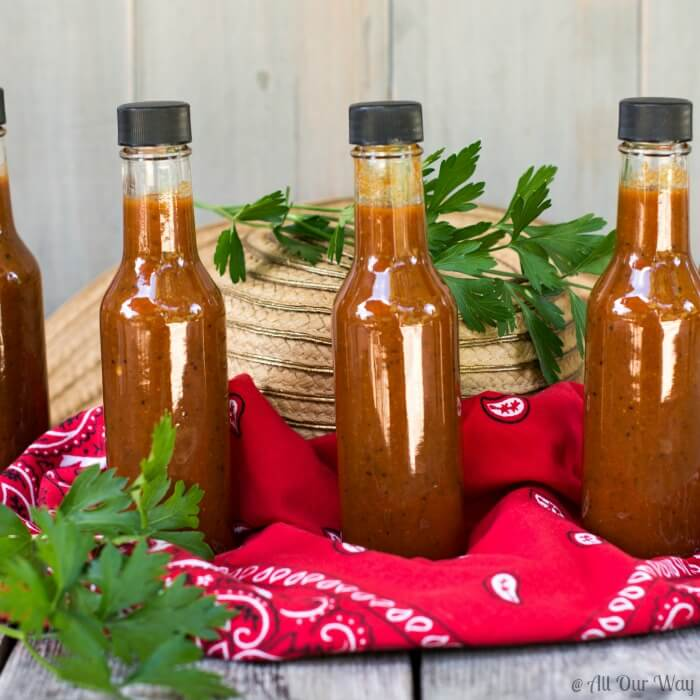 Light My Fire Habanero Pepper Sauce is hot and delightful at the same time @allourway.com
