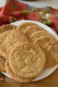 Brown Butter Snickerdoodle Cookies takes a traditional recipe and turns it gourmet @allourway.com
