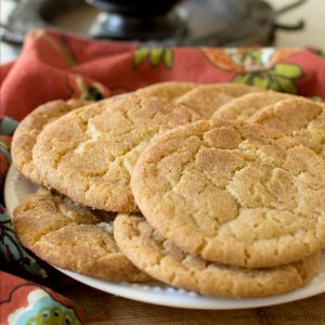 Brown Butter Snickerdoodle Cookies takes Old-fashioned to gourmet @allourway.co