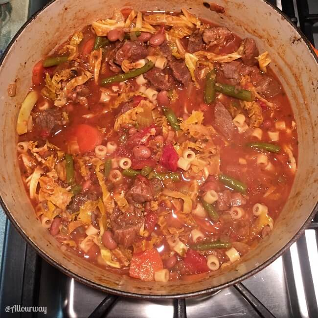 -style chili, Burgoo a Kentucky stew, French Boef Bourguignonne, Beef ...