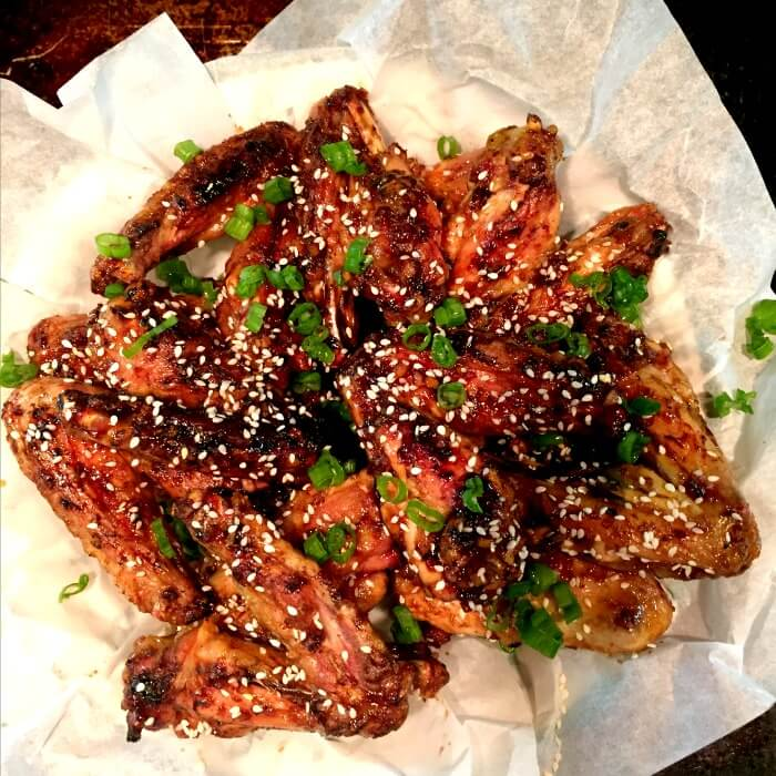 Spicy Teriyaki Chicken Wings Are Finger Licking Good and can be grilled or baked. @allourway.com