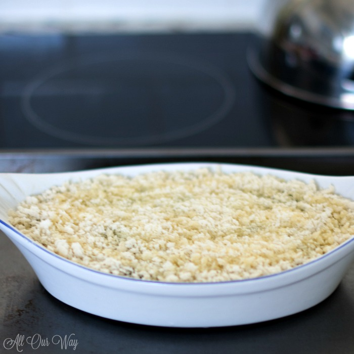The best baked spinach gratin a streamlined Julia Child recipe is ready for the oven.