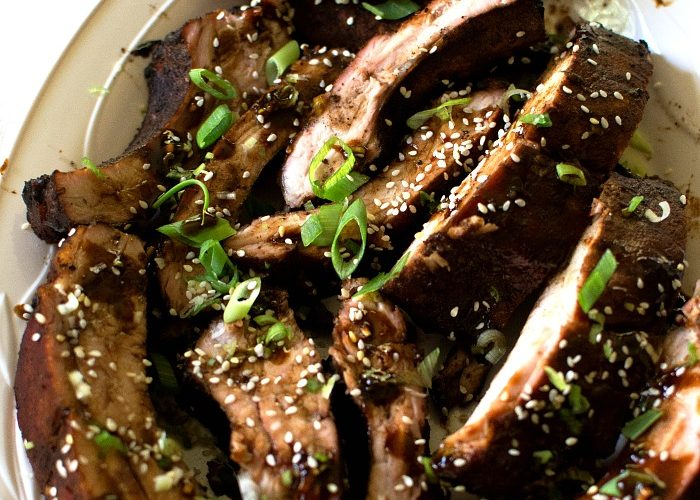 Asian Barbecued Ribs – Tantalizingly Smoky, Sticky, Salty, Sweet