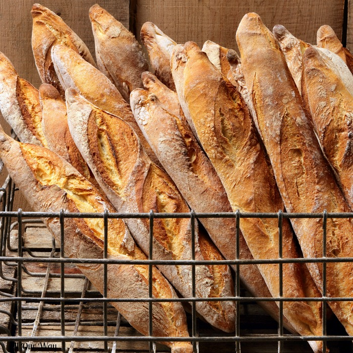 Crusty French Bread from a Bakery has nothing on our 4 hour Crusty French Baguettes