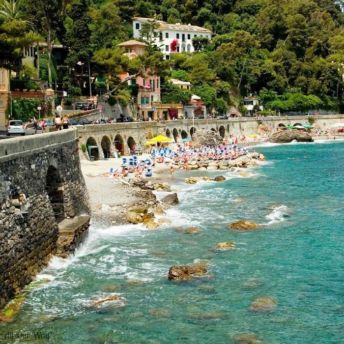 Genoa Province, Liguria, Italy, Italian Riviera.