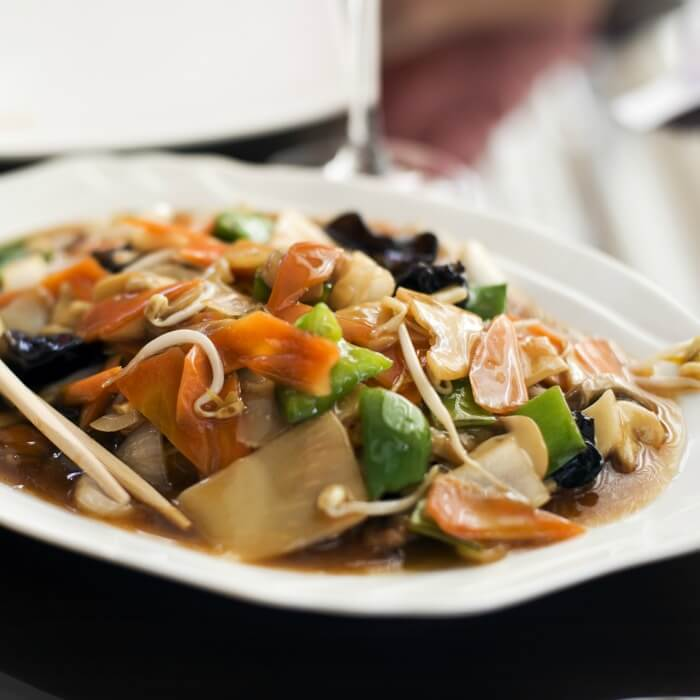 Chicken Chop Suey - the recipe is very adaptable to any meat and vegetable.