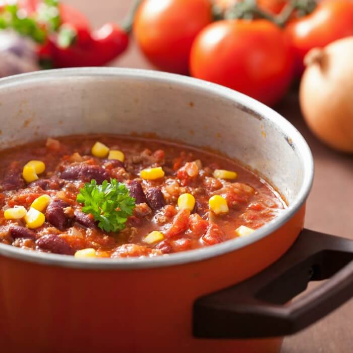 Hearty Venison Chili has lots of variations. Mexican Chili con carne is one of them.