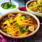 Hearty venison chili is spicy and full of flavor. Slow cooked so that all of the flavors meld together beautifully.