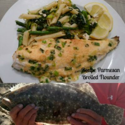 Parmesan Broiled Flounder Healthy Eating At Its Tastiest