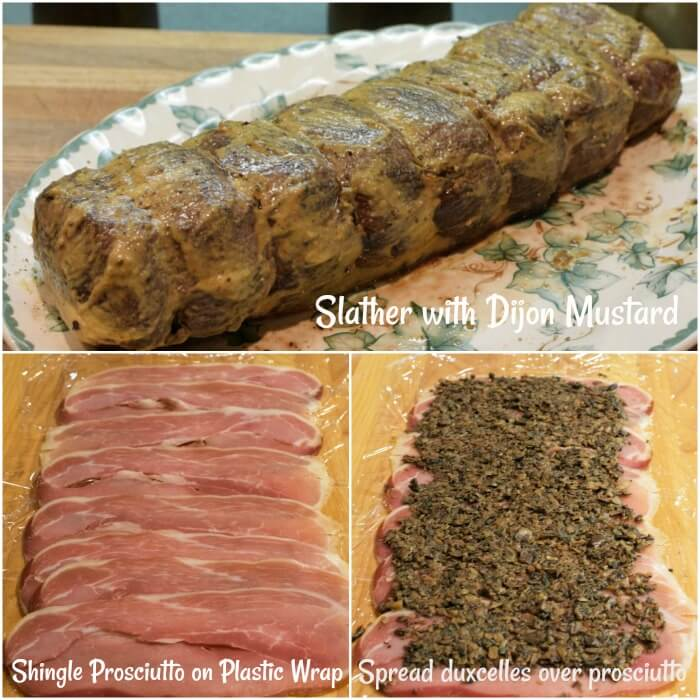 Italian Venison Wellington Instructions 4-6. Searing the meat