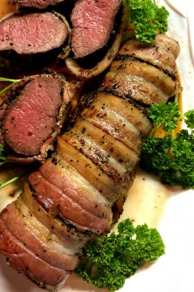 Grilled Antelope Tenderloin |Bacon-Wrapped and Succulent
