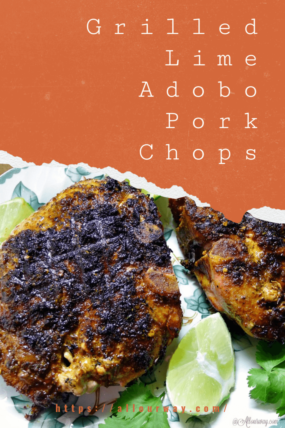 This delicious adobo paste uses the flavors of Mexico plus fresh lime zest to give the rub a lovely note with enough spice to waken your tastebuds We show you how to make perfect pork chops every time. Never worry about dry pork chops. They are flavorful and juicy a company worthy dinner. Enjoy outdoor grilled pork chops.